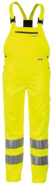 PLANAM Warn-Schutz-Arbeits-Berufs-Latzhose, Schutz-Bekleidung uni gelb