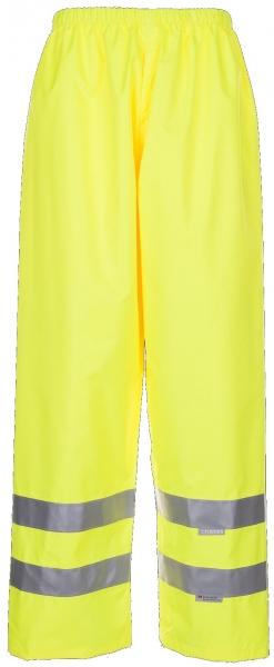 PLANAM Regen-Hose uni, Warn-Schutz-Bekleidung, gelb