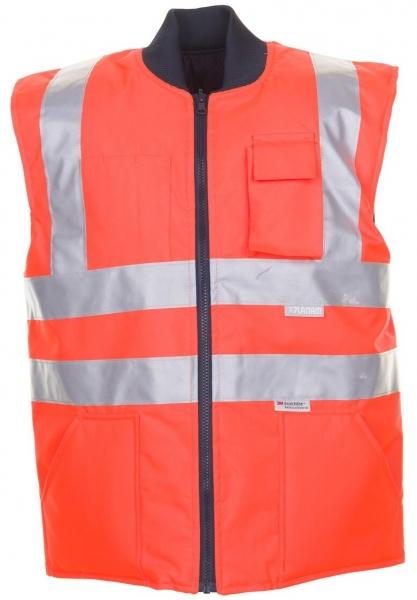PLANAM-Warn-Schutz, Arbeits-Sicherheits-Berufs-Weste, uni Wetterschutz-Bekleidung orange