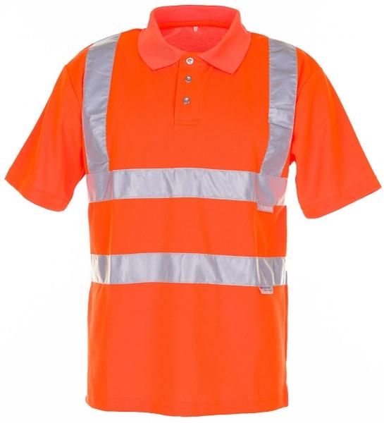 PLANAM Polo-Shirt uni Warn-Schutz-Bekleidung, orange