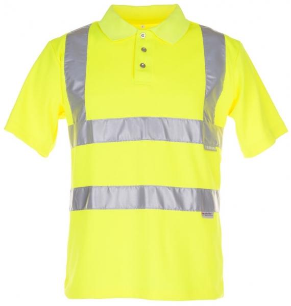 PLANAM Polo-Shirt uni Warn-Schutz-Bekleidung, gelb