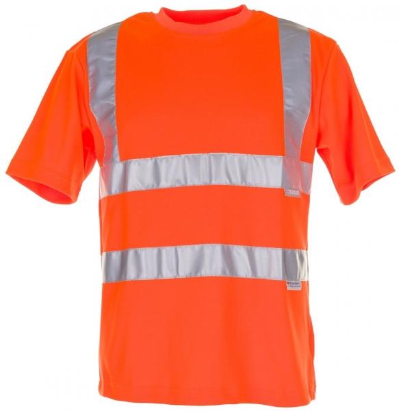 PLANAM T-Shirt uni Warn-Schutz-Bekleidung, orange