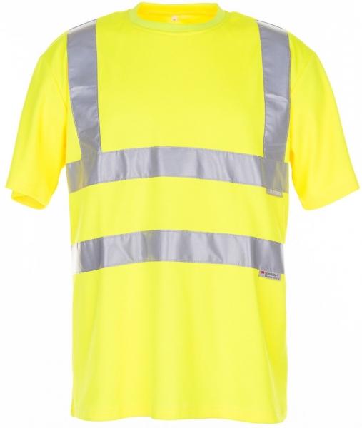 PLANAM T-Shirt uni Warn-Schutz-Bekleidung, gelb