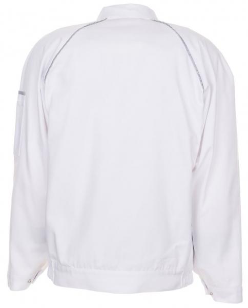 PLANAM Maler-Arbeits-Berufs-Bund-Jacke, CANVAS 320,  weiß/weiß