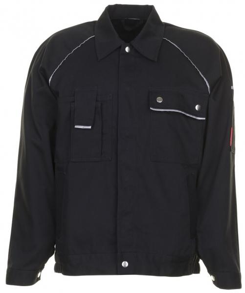 PLANAM Arbeits-Berufs-Bund-Jacke, CANVAS 320, schwarz/schwarz