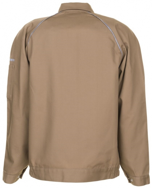 PLANAM Arbeits-Berufs-Bund-Jacke, CANVAS 320, khaki/schwarz
