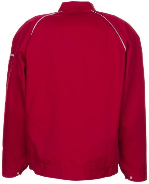 PLANAM Arbeits-Berufs-Bund-Jacke, CANVAS 320,  rot/rot