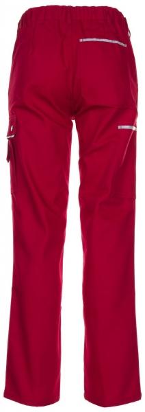 PLANAM-Arbeits-Berufs-Bund-Hose, CANVAS 320, rot/rot