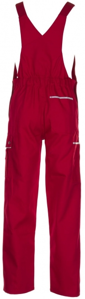 PLANAM-Arbeits-Berufs-Latz-Hose, CANVAS 320, rot/rot