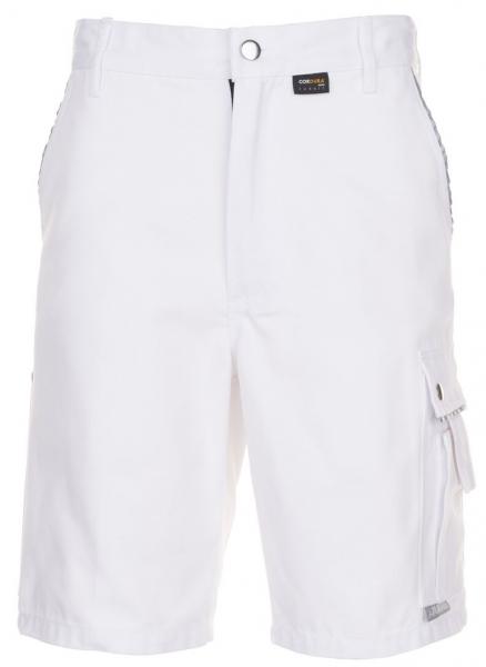 PLANAM Arbeits-Berufs-Shorts, Canvas 320 g/m², weiß