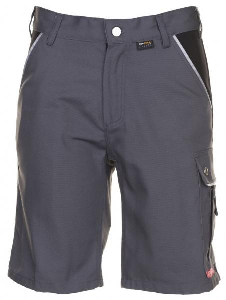 PLANAM Arbeits-Berufs-Shorts, CANVAS 320 g/m², grau/schwarz