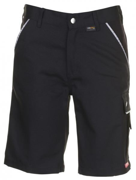 PLANAM-Arbeits-Berufs-Shorts, Canvas, 320 g/m², schwarz/schwarz