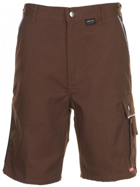 PLANAM Arbeits-Berufs-Shorts, CANVAS 320 g/m², braun/schwarz