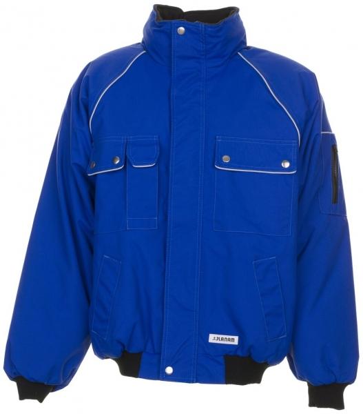 PLANAM Winter-Arbeits-Berufs-Jacke, Blouson, CANVAS 320, kornblau/kornblau