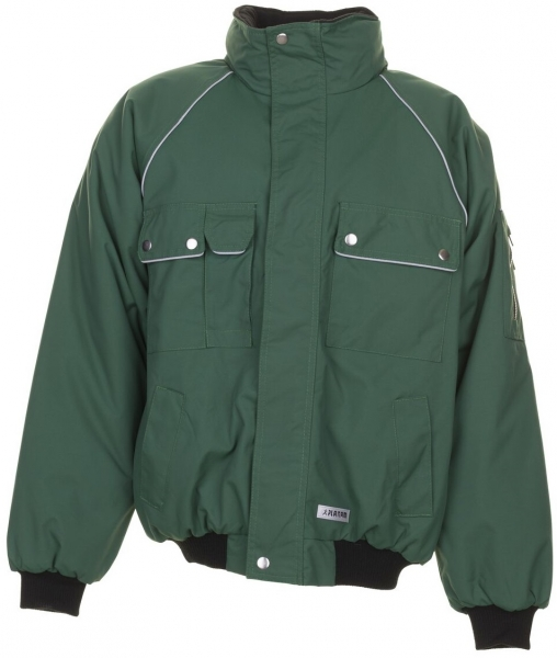 PLANAM Winter-Arbeits-Berufs-Jacke, Blouson, CANVAS 320,  grün/grün