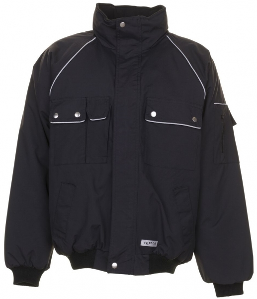 PLANAM Winter-Arbeits-Berufs-Jacke, Blouson, CANVAS 320, schwarz/schwarz