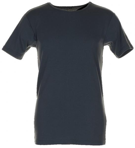 PLANAM Shirt, Kurzarm, Funktions-Unterwäsche, grau