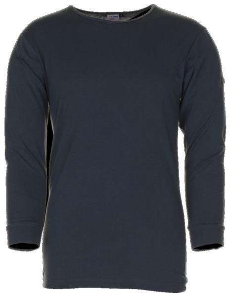 PLANAM Shirt, Langarm, Funktions-Unterwäsche, grau