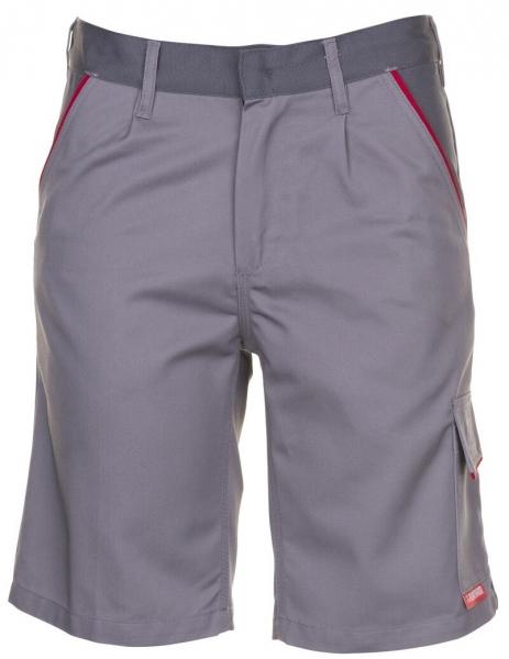 PLANAM Arbeits-Berufs-Shorts, HIGHLINE, 285 g/m², zink/schiefer/rot