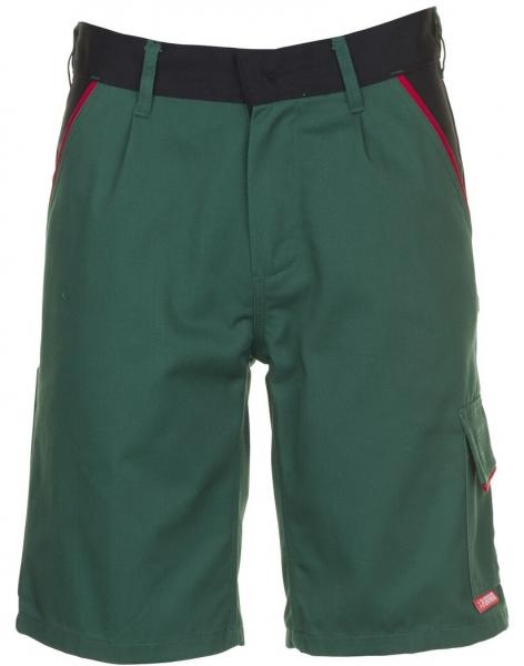 PLANAM Arbeits-Berufs-Shorts, HIGHLINE, 285 g/m², grün/schwarz/rot