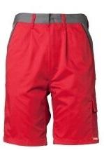 PLANAM Arbeits-Berufs-Shorts, HIGHLINE, 285 g/m², rot/schiefer/schwarz