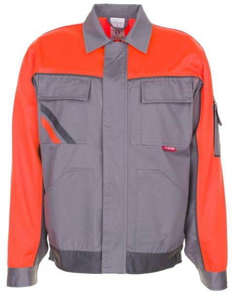 PLANAM Arbeits-Berufs-Bund-Jacke, VISLINE, MG 285, zink/orange/schiefer