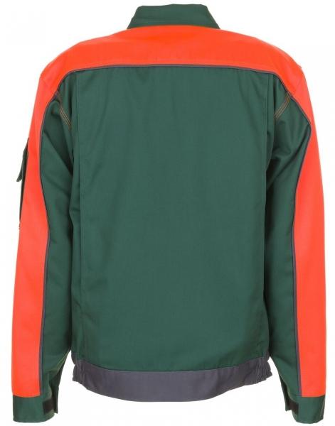 PLANAM Arbeits-Berufs-Bund-Jacke, VISLINE, MG 285, grün/orange/schiefer