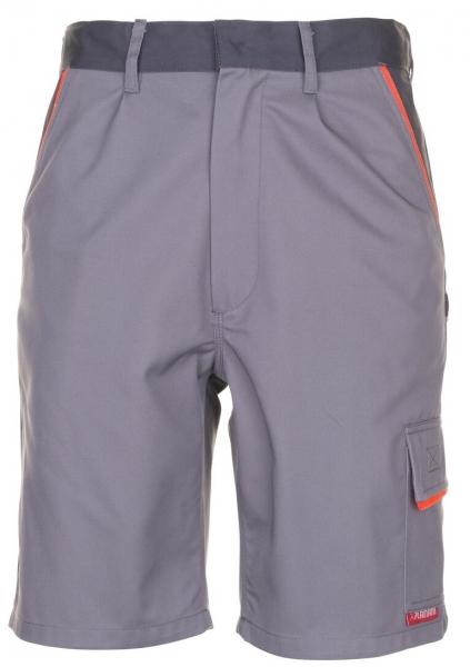 PLANAM Arbeits-Berufs-Shorts, VISLINE, 285 g/m², zink/orange/schiefer