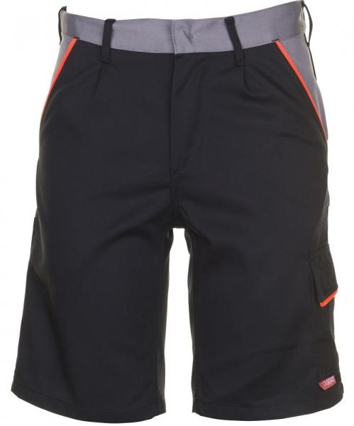 PLANAM Arbeits-Berufs-Shorts, VISLINE, 285 g/m², schwarz/orange/zink