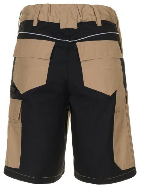 PLANAM Arbeits-Berufs-Shorts, PLALINE, 280 g/m², sand/schwarz