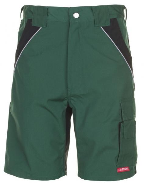 PLANAM Arbeits-Berufs-Shorts, PLALINE, 280 g/m², grün/schwarz