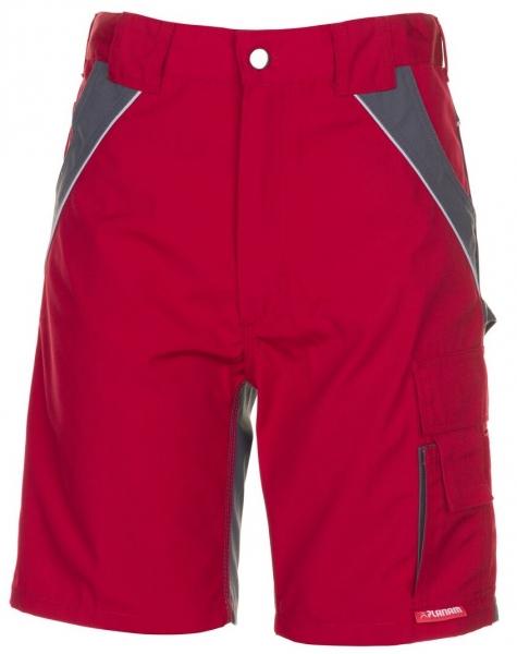 PLANAM Arbeits-Berufs-Shorts, 280 g/m², rot/schiefer