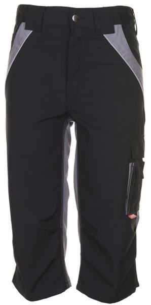 PLANAM 3/4 Hose, Arbeits-Berufs-Shorts, PLALINE, 280 g/m², schwarz/zink
