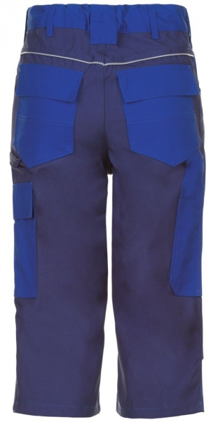 PLANAM 3/4 Hose, Arbeits-Berufs-Shorts, PLALINE, 280 g/m², kornblau/marine