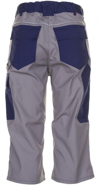 PLANAM 3/4 Hose, Arbeits-Berufs-Shorts, PLALINE, 280 g/m², marine/zink