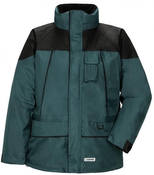 PLANAM Twister, Winter-Arbeits-Berufs-Jacke, grün/schwarz