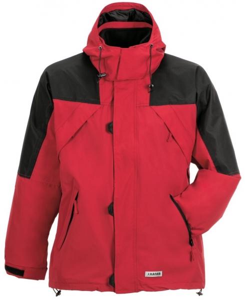 PLANAM Redwood, Winter-Arbeits-Berufs-Jacke, rot/schwarz