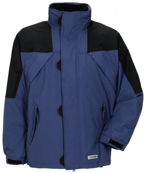 PLANAM Redwood, Winter-Arbeits-Berufs-Jacke, amporablau/schwarz