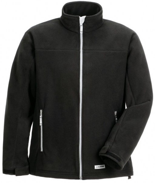 PLANAM Winter-Retro-Fleece-Arbeits-Berufs-Jacke, schwarz