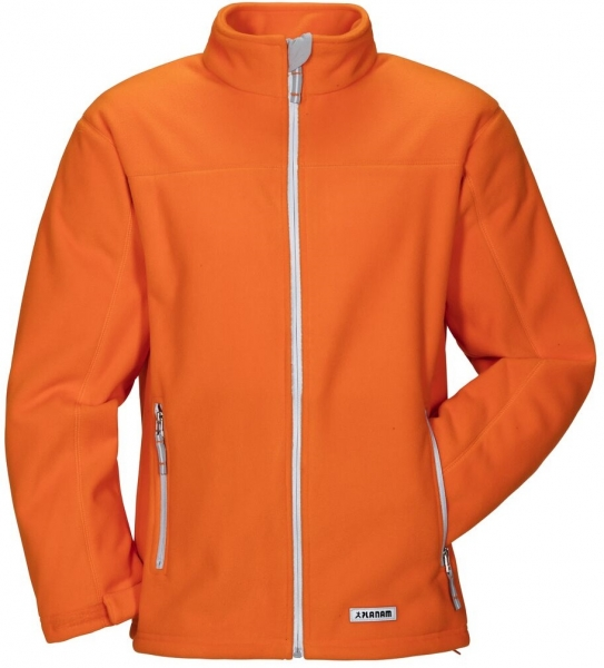 PLANAM Winter-Retro-Fleece-Arbeits-Berufs-Jacke, orange