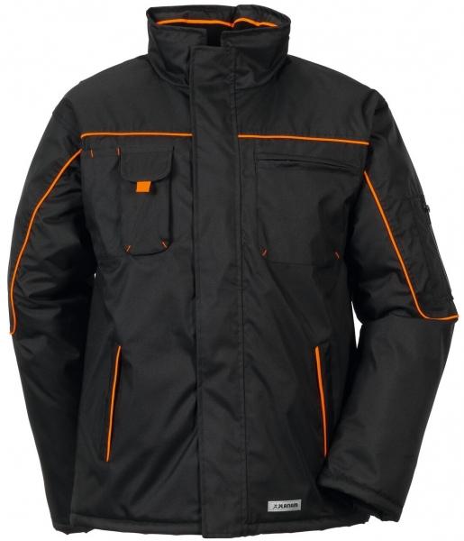 PLANAM Piper, Winter-Arbeits-Berufs-Jacke, schwarz/orange
