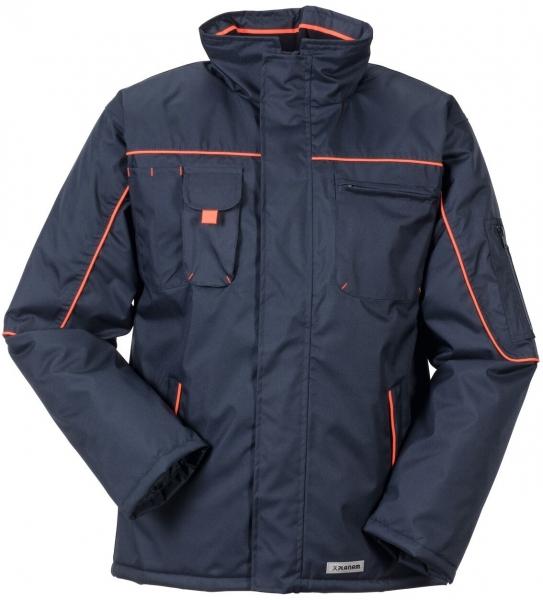 PLANAM Piper, Winter-Arbeits-Berufs-Jacke, marine/orange