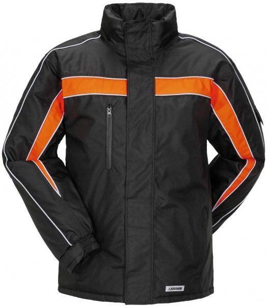 PLANAM Cosmic, Winter-Arbeits-Berufs-Jacke, schwarz/orange