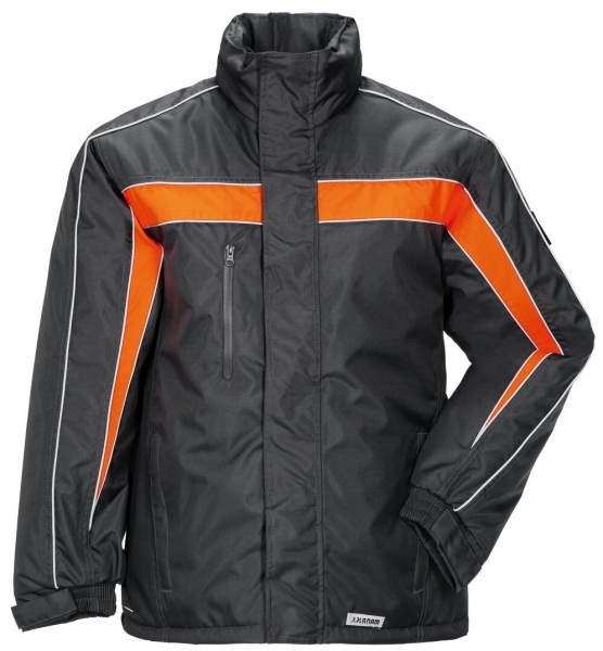 PLANAM Cosmic, Winter-Arbeits-Berufs-Jacke, anthrazit/orange