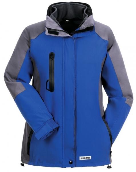 2b3aef11809701 PLANAM Shape, Damen Winter-Arbeits-Berufs-Jacke, blau/grau