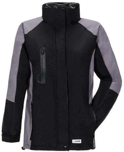 PLANAM-Damen-Winter-Wetter-Arbeits-Berufs-Jacke, Shape, schwarz/grau