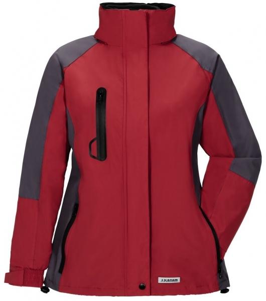 PLANAM-Damen-Winter-Wetter-Arbeits-Berufs-Jacke,Shape, rot/grau
