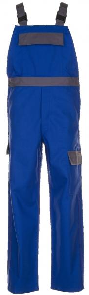 PLANAM-Schweißer-Arbeits-Schutz-Berufs-Latzhose, MAJOR PROTECT kornblau/grau