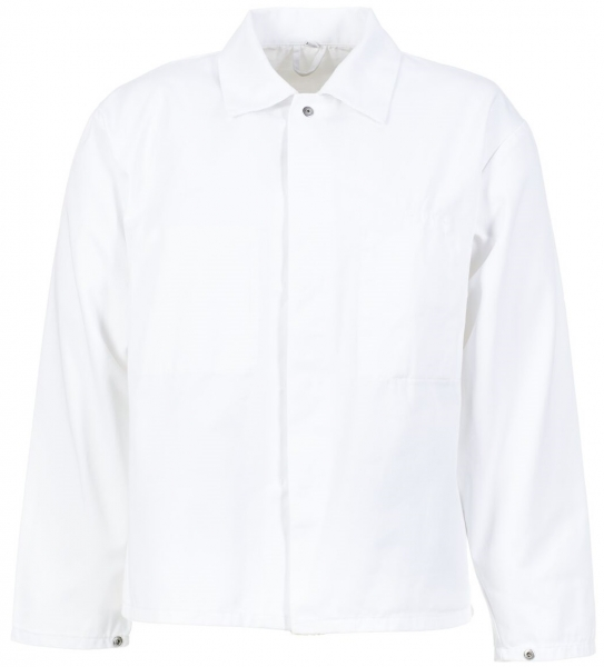 PLANAM Herren Jacke Food-Bekleidung, HACCP-Hygiene-Arbeits-Berufs-Bekleidung,  weiß