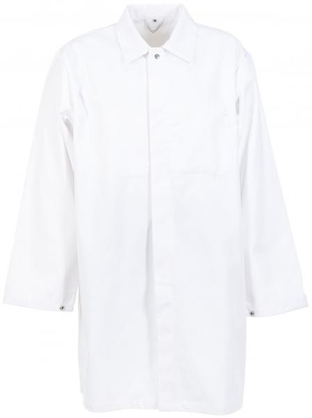 PLANAM Arbeits-Berufs-Mantel Food-Bekleidung, HACCP-Hygiene-Bekleidung,  weiß